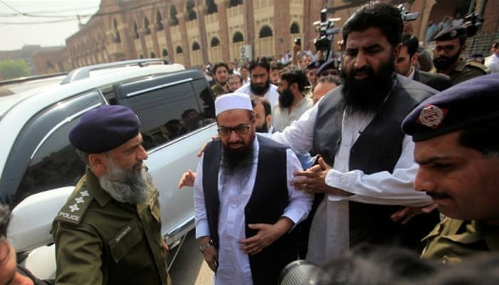 ATC sentences Hafiz Saeed to prison for 11 years in two cases
