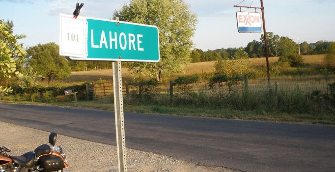 There is a town called Lahore in Virginia, U.S