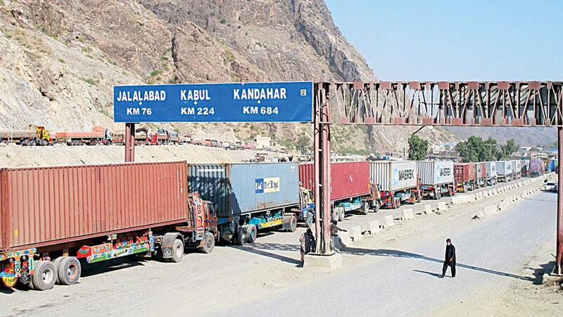 Hundreds of trucks stranded at Torkham