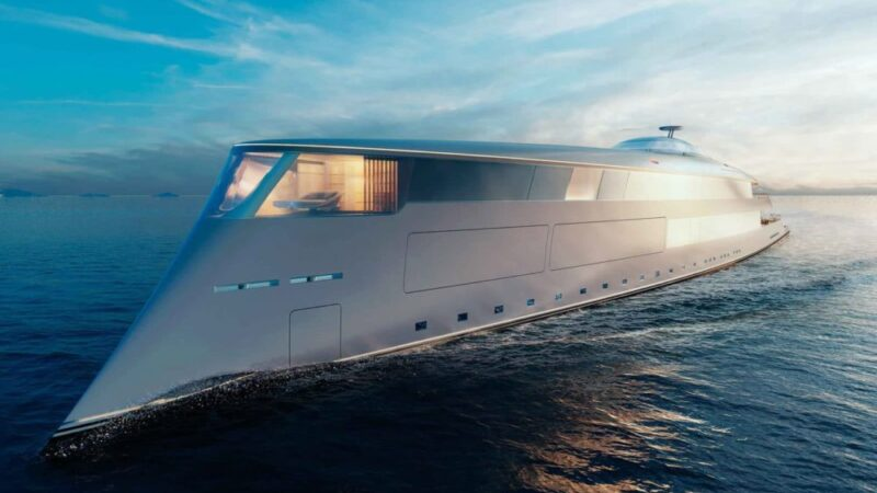 Bill Gates is buying the world's most expensive hydrogen-powered yacht