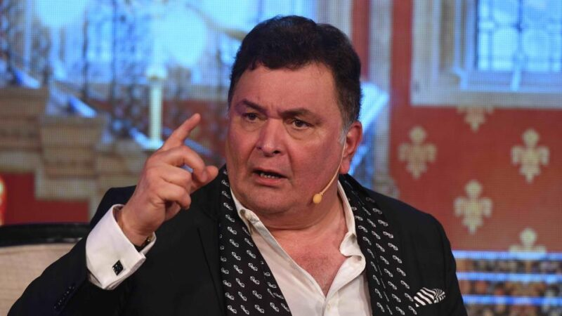Rishi Kapoor hospitalised due to an infection