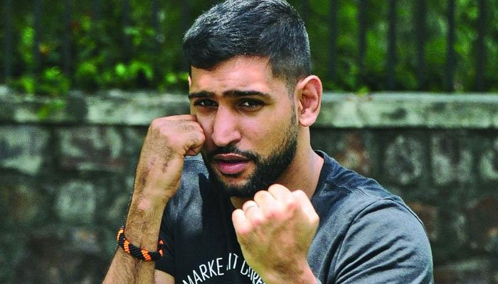 Boxer Amir Khan to donate Rs40m to Pakistan for coronavirus relief