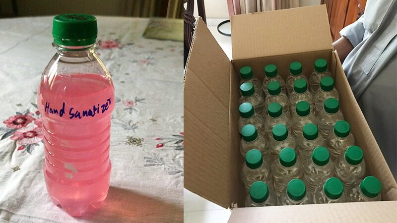 Murree brewery gets permission to make sanitizer
