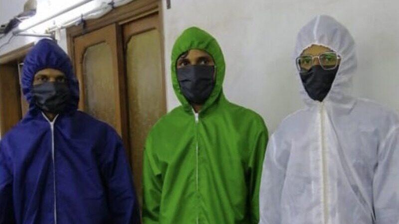 Deepak Perwani designs protective bodysuits for Pakistani medics