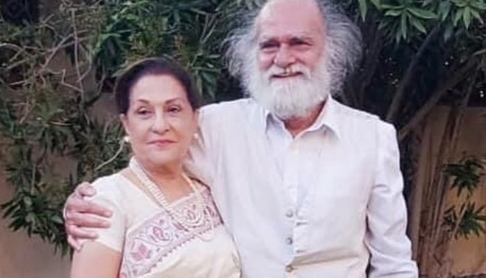 Actors Samina Ahmed, Manzar Sehbai tie the knot