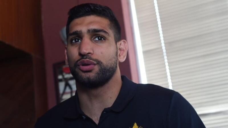 Boxer Amir Khan says he won't fight behind closed doors