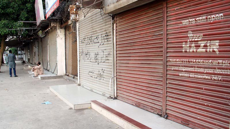 Dozens of shops sealed in Lahore for not following SOPs