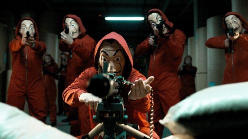 Netflix's Money Heist will be back with season 5, 6