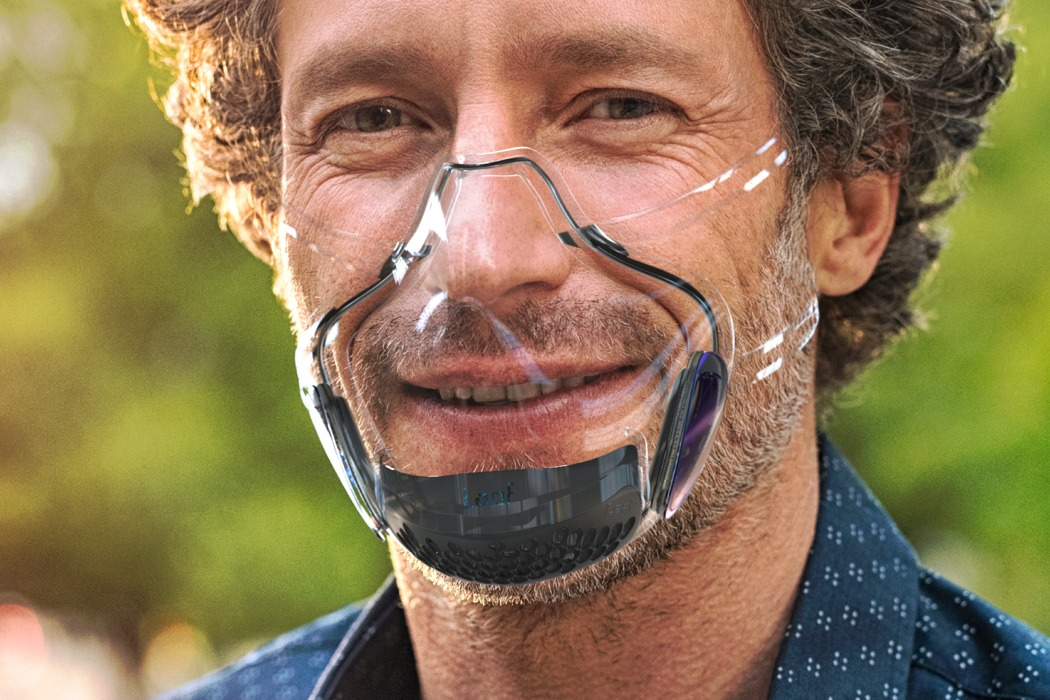 World's first UV powered transparent mask wants people to reconnect safely