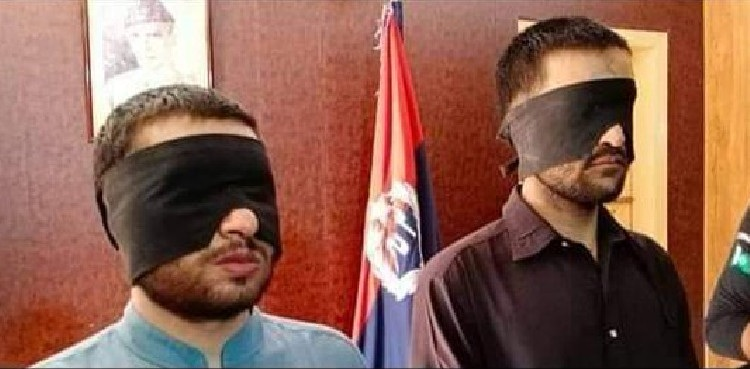 Two Indian spies arrested after crossing LOC in Gilgit Baltistan