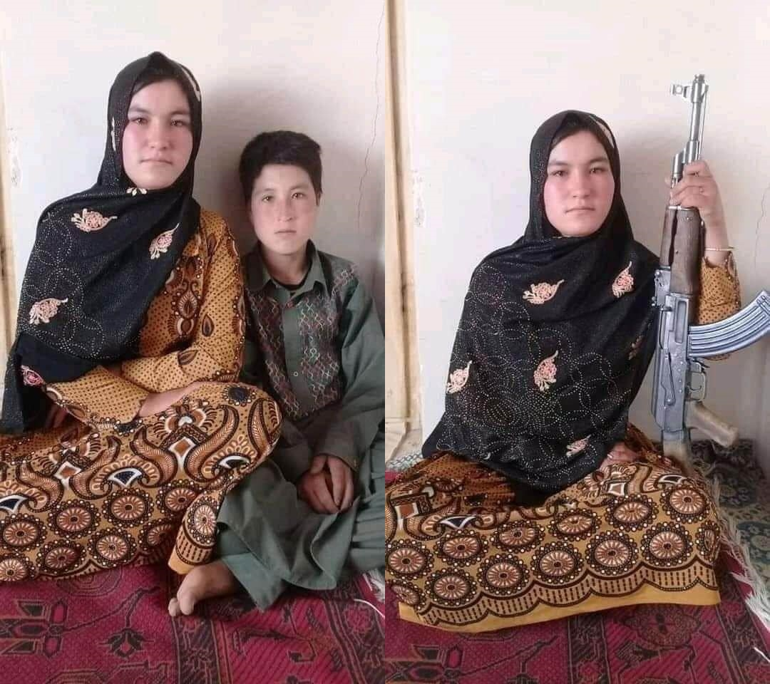 Brave Afghan girl kills two Taliban militants after they murdered her parents