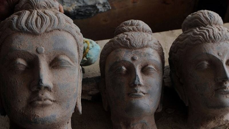 No place for history: Four men arrested in KPK for shattering ancient Buddha statue