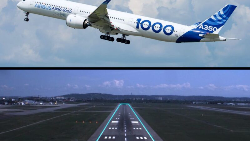 Airbus' self-flying plane completes successful taxi, take-off, and landing tests