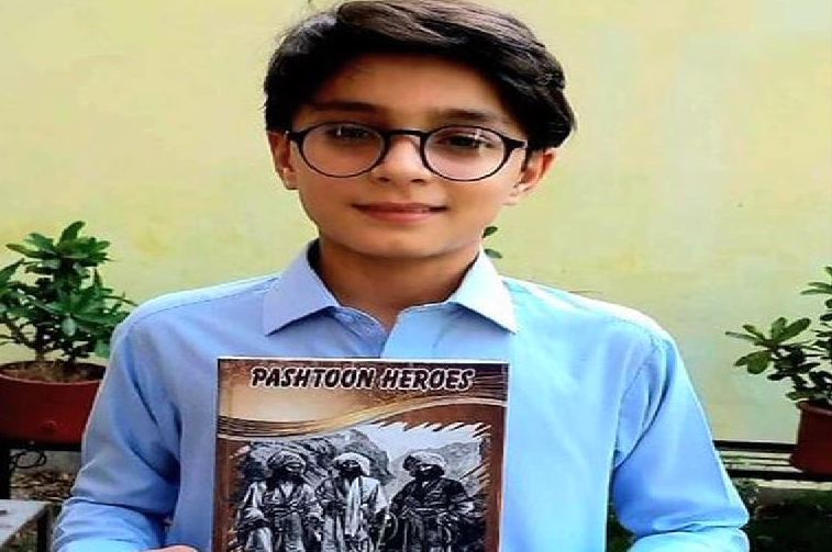 Seventh grader brings to life 'Pashtoon heroes' by writing a book