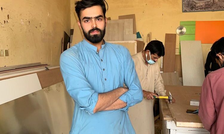 Pakistani carpenter's dream of becoming a model comes true in Saudi Arabia