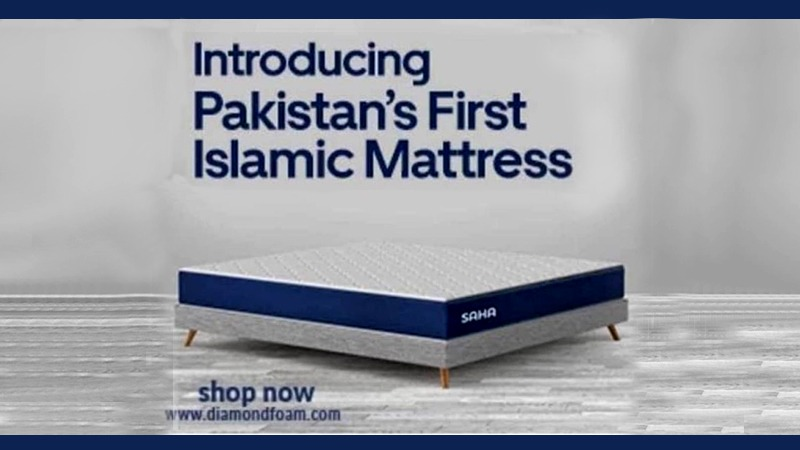 Diamond Foam's Islamic mattress is real but viral ad is fake