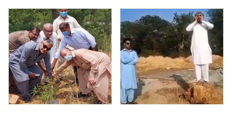 Man in Islamabad recites Azaan at land designated for Hindu temple