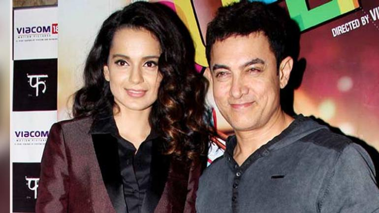 Kangana Ranaut lashes out at Aamir Khan for saying his kids will follow Islam