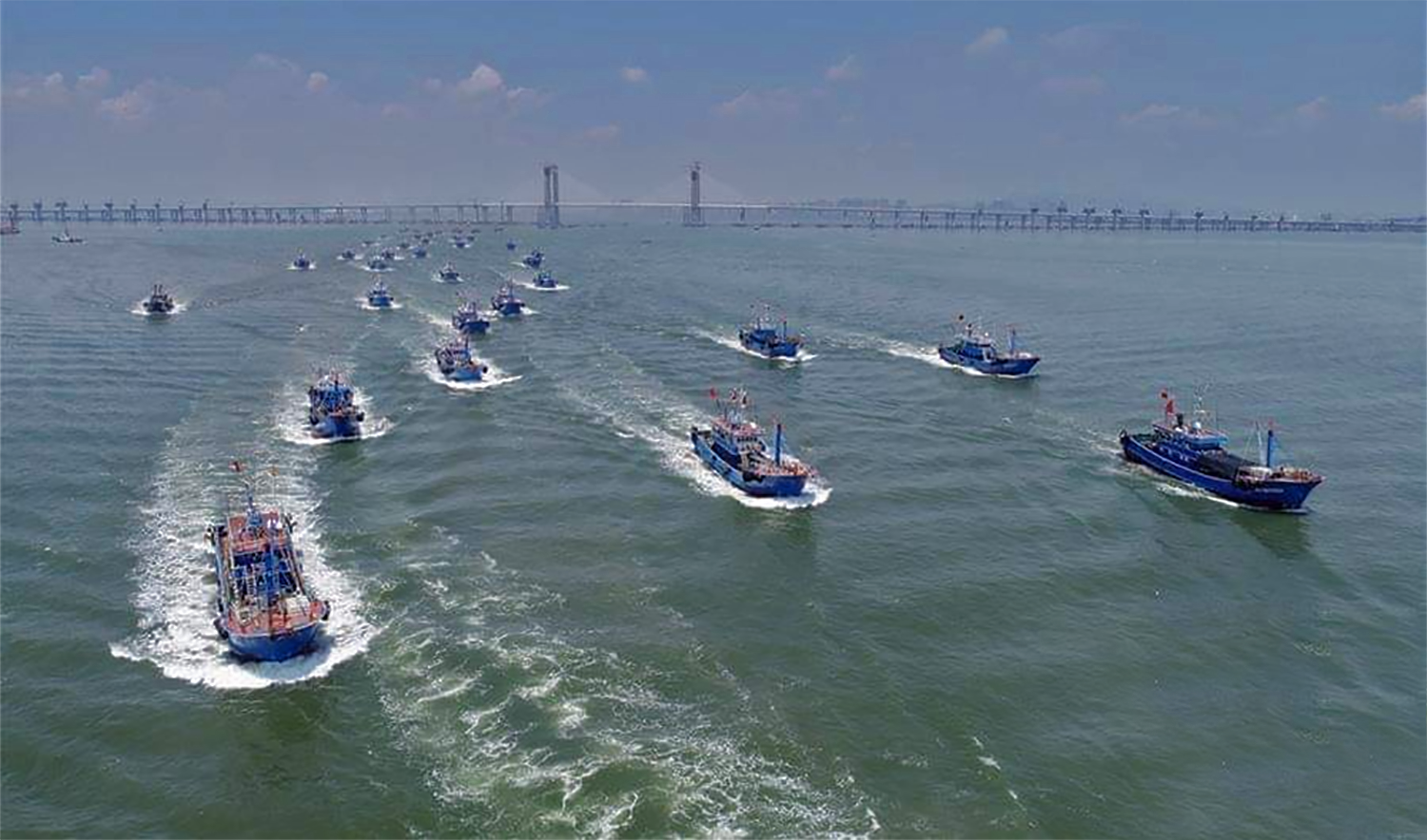 Pakistani fisherman fight the mighty Chinese for food in country's deep-sea fishing waters