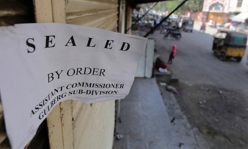 Six marriage halls, 103 restaurants sealed in Karachi for not following SOPs