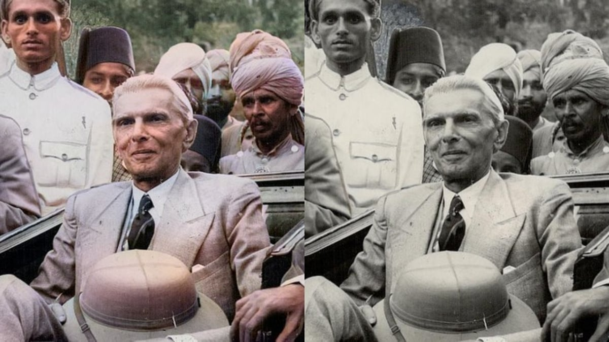 Pakistani woman uses AI to add colors to black and white historical images