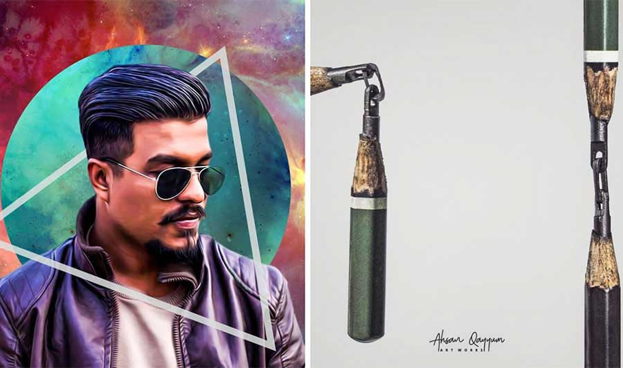 Meet Ahsan Qayyum: Pakistan's globally recognized miniature sculptor and record holder