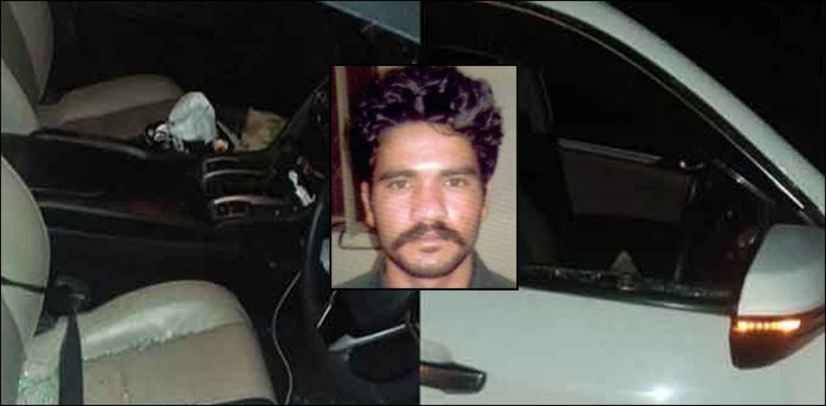 Abid Malhi woke up the police sleeping nearby and handed himself over, says father