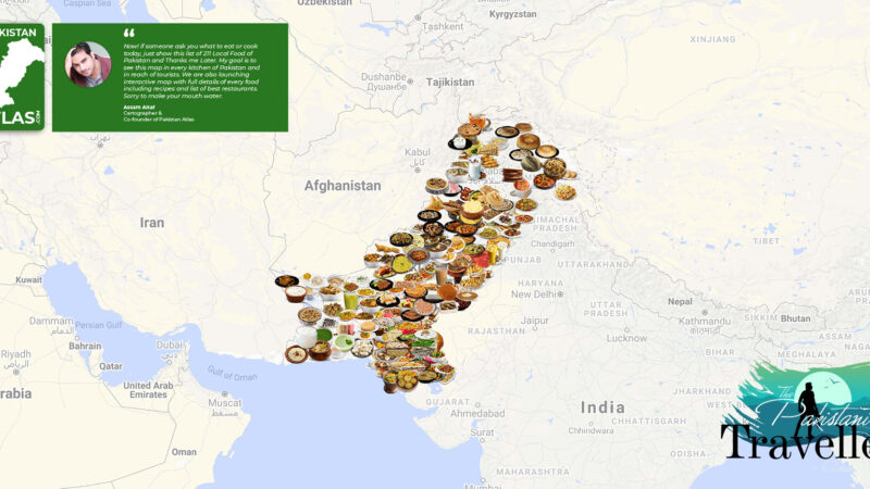 Pakistani artist creates country's first complete traditional food map