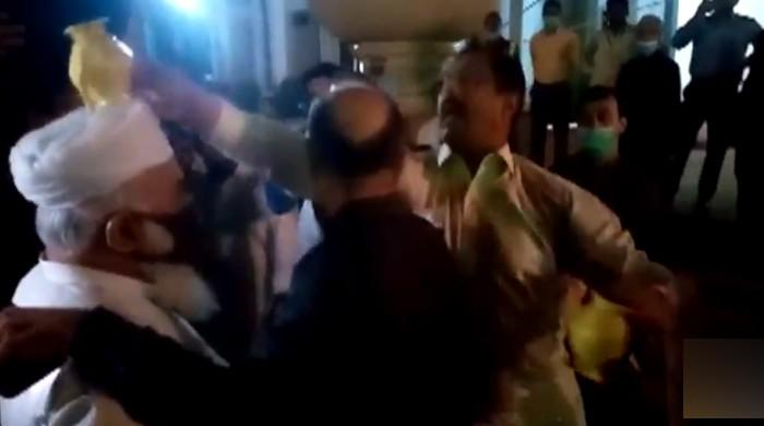 PML-N MPA calls party workers' act of placing lota on his head 'anti-Sharia'