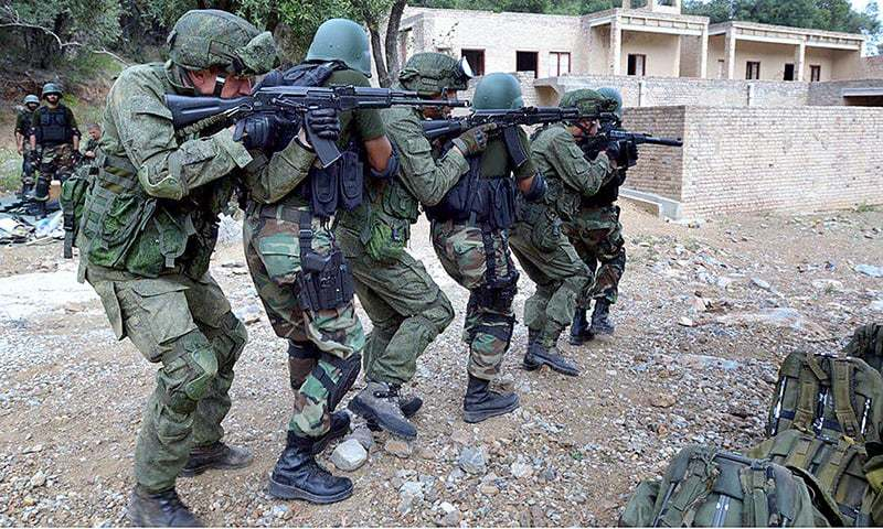Russian troops arrive in Pakistan to participate in joint training exercise