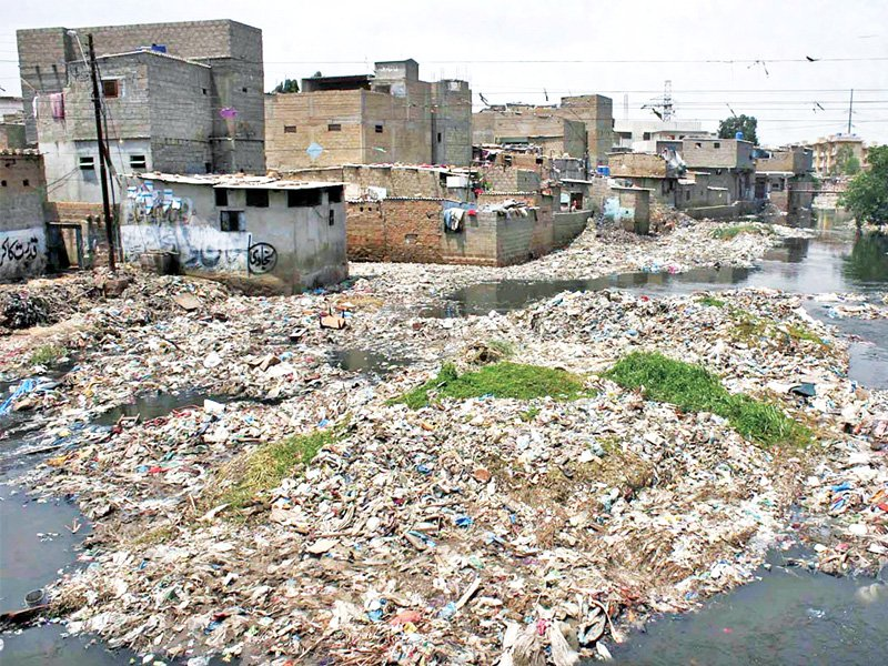 Karachi Water and Sewerage Board requests Karachiites to not throw used condoms in gutters
