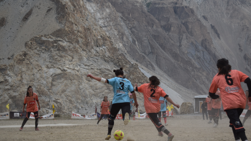 Gilgit-Baltistan Girls Football League: Giving young girls in remotest areas opportunity to flex their muscles