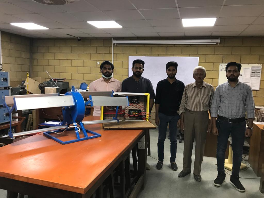 Genius students at UIT design equipment that can generate power from storm water drains