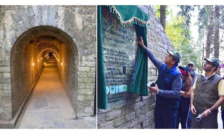 129-year-old British-era tunnel found from trash mound restored in Ayubia