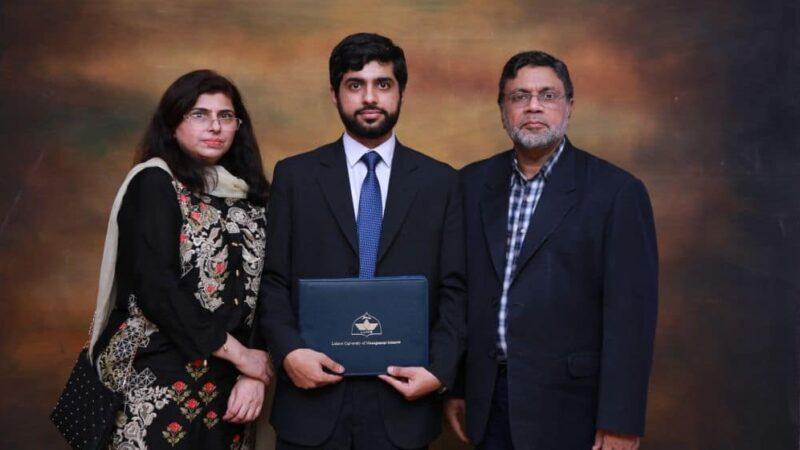 Pakistani student scores highest marks in ACCA exam globally