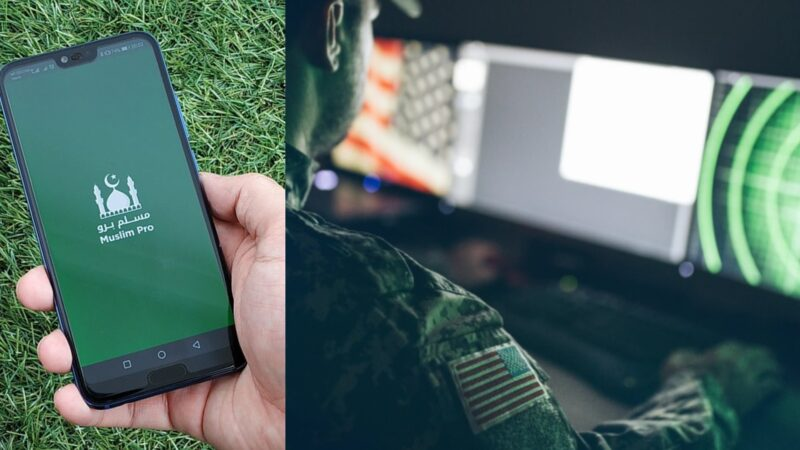 Muslim prayer app selling location data to US military