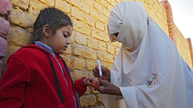 Lahore declared Pakistan's first polio-free city