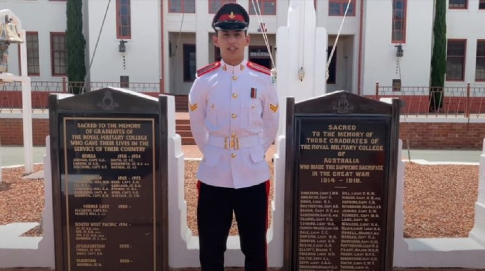 Pakistan Army cadet conferred with Best Foreign National Military Cadet award in Australia
