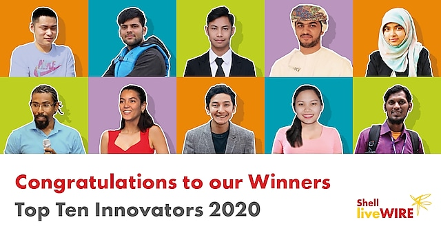 Three entrepreneurs from Pakistan take home top prizes of Shell LiveWIRE Top Ten Innovators Awards