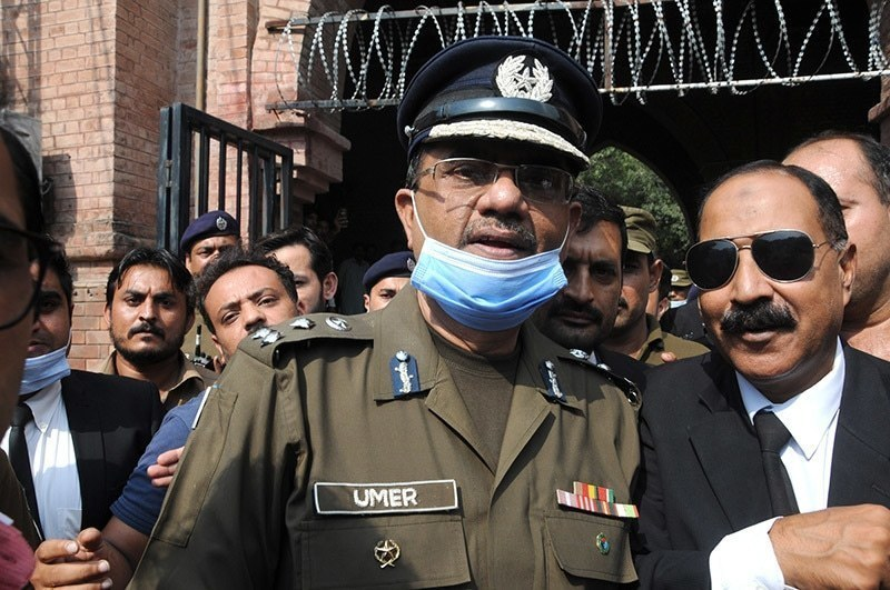 Punjab government removes Umar Sheikh from post of Lahore CCPO