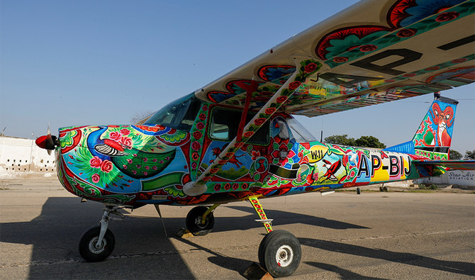 Pakistan's famous truck art moves from its highways to the skies