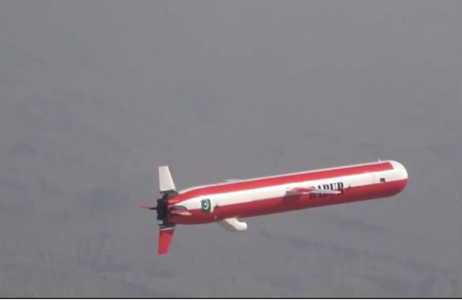 Pakistan successfully conducts training launch of Babur cruise missile