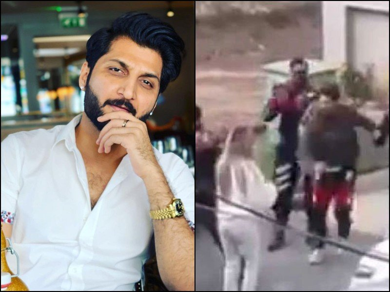 Singer Bilal Saeed justifies his violent burst out against a woman as self protection