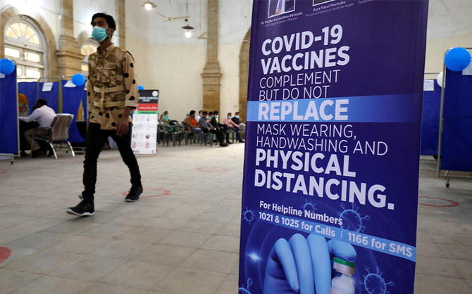 Pakistan's vaccine drive aims to cover 300,000 health workers within next three weeks