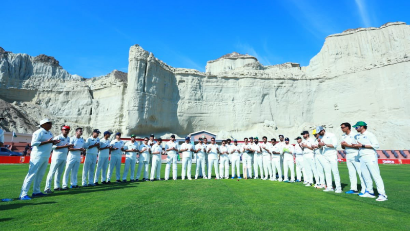 'World's most picturesque' Gwadar cricket stadium holds first star-studded match
