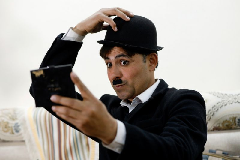 With 80,000 TikTok followers in just two months, Charlie Chaplin from KP aims to raise a smile in bleak times