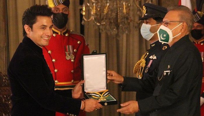 Ali Zafar receives Pride of Performance award on Pakistan Day and some Pakistanis are not happy