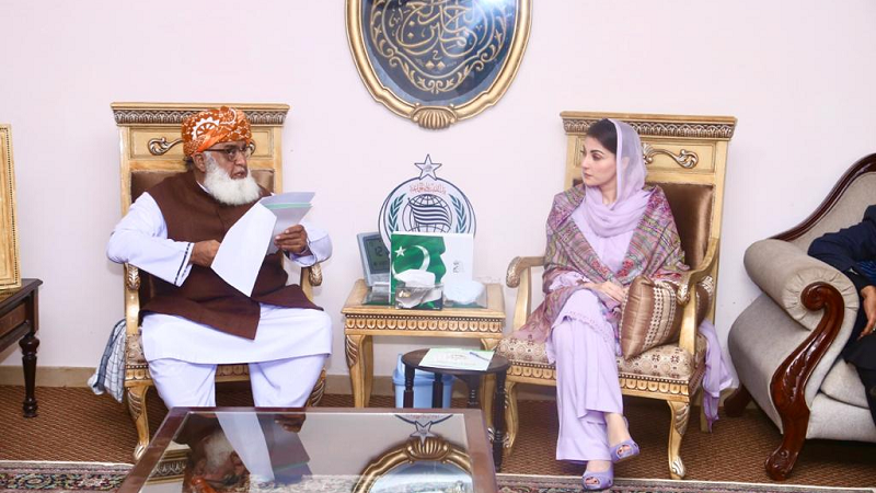 Maryam and Fazl both put off political activities for some days after reporting fever