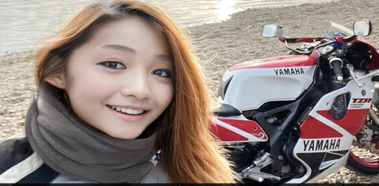 Young Japanese female biker with large social media following turns out be a 50-year-old man