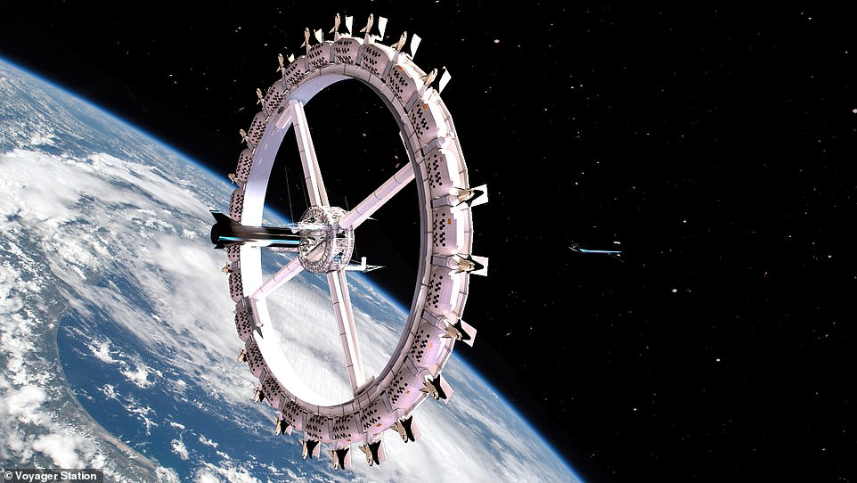 World's first space hotel plans to open for business by 2027